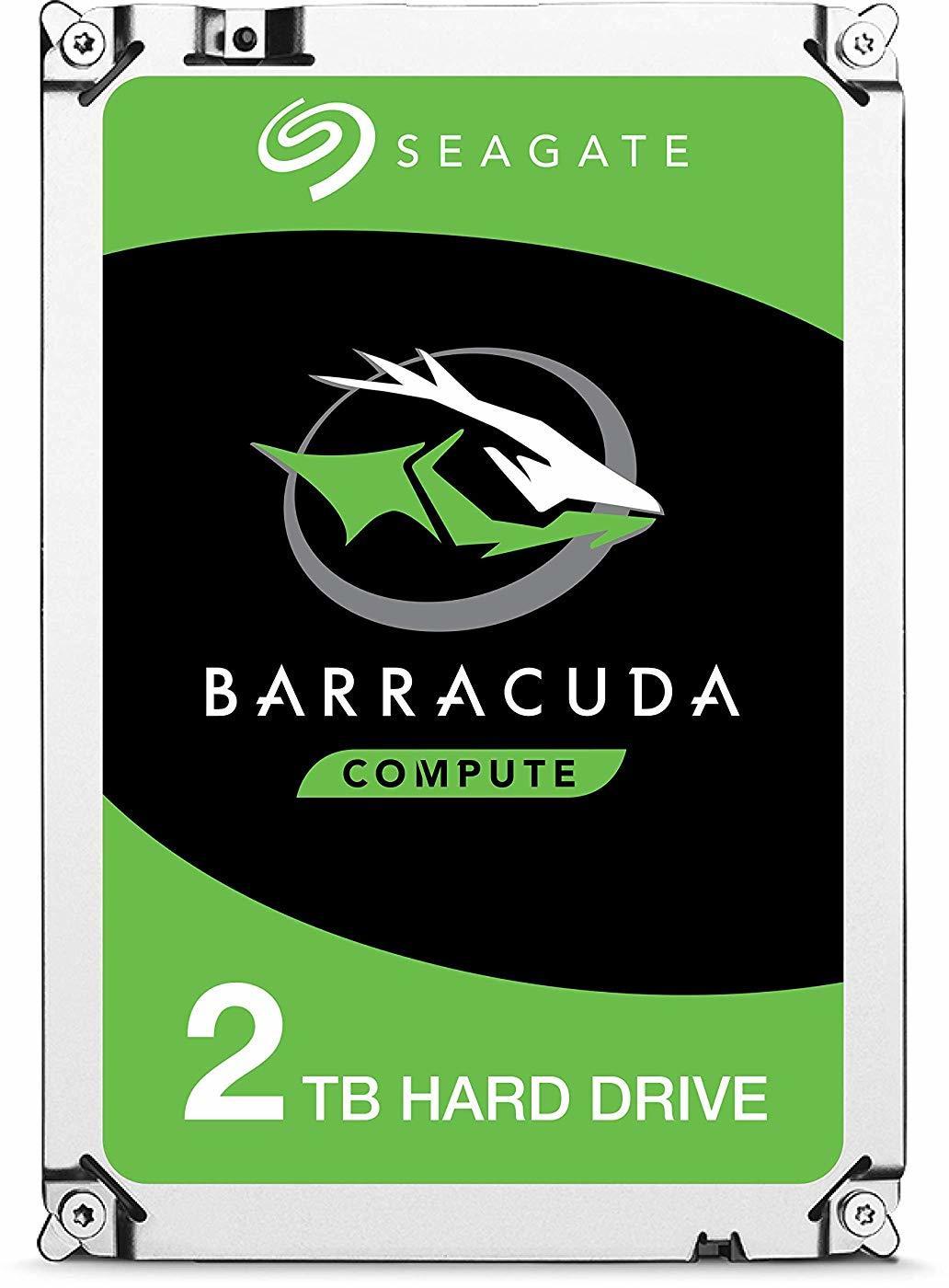 "2TB Seagate BarraCuda 3.5"" 7200RPM SATA HDD image"