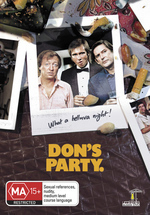 Don's Party on DVD