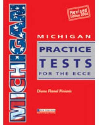 Michigan Practice Tests for the ECCE by Diane Flanel Piniaris image