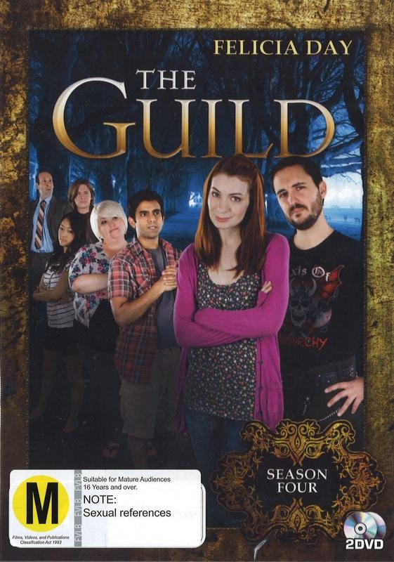 The Guild - Season Four (2 Disc Set) on DVD