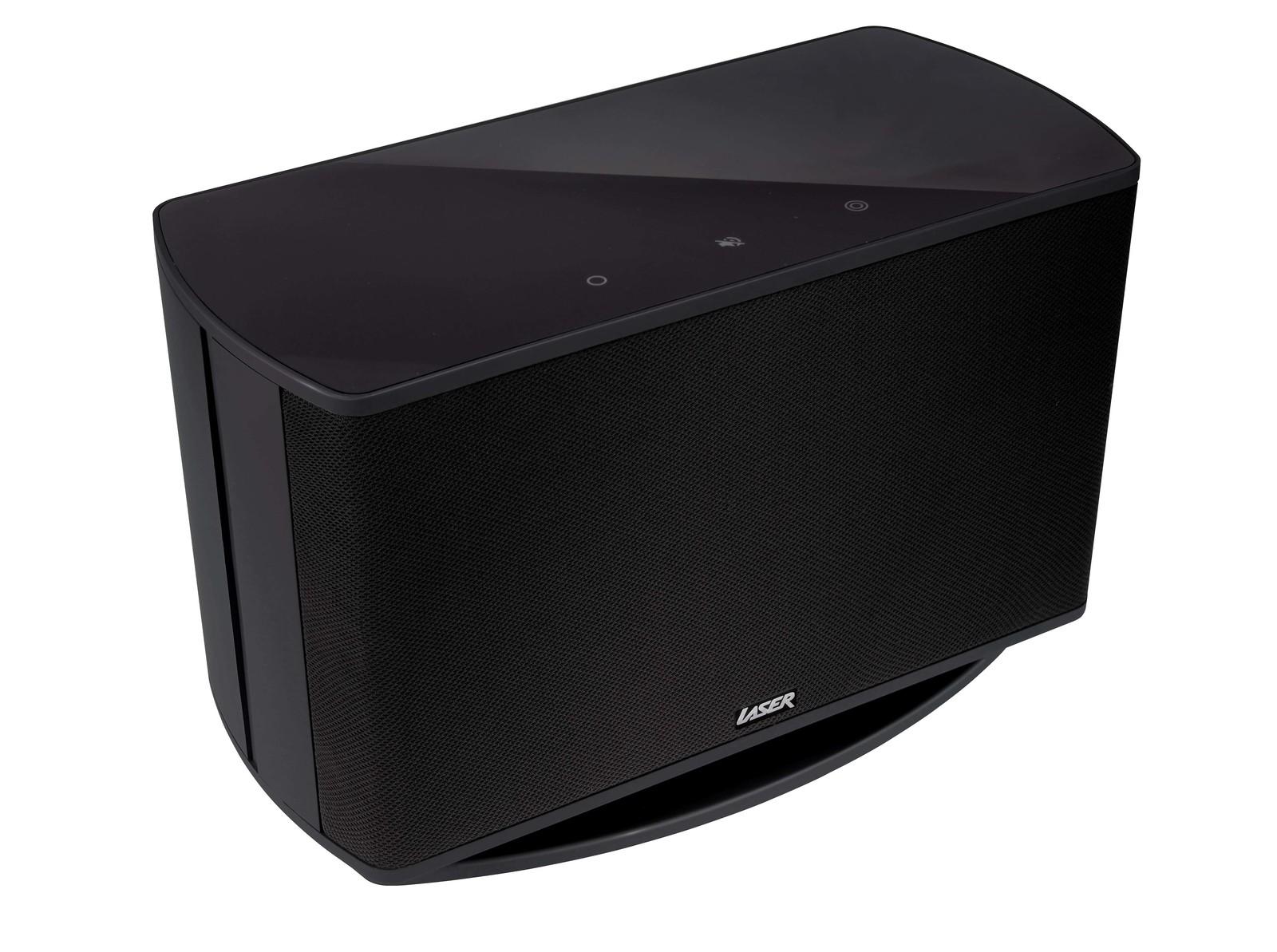 Laser Wi-Fi Multi Room Speaker Q30 (Black) Images at
