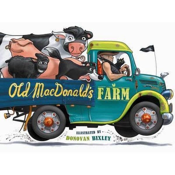 Old MacDonald's Farm: NZ Edition by Donovan Bixley image