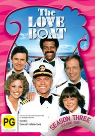 The Love Boat - Season 3 (Vol. 1) on DVD