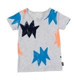 Bonds Short Sleeve Standard T-Shirt - Fluro Zapstar (3-4 Years)