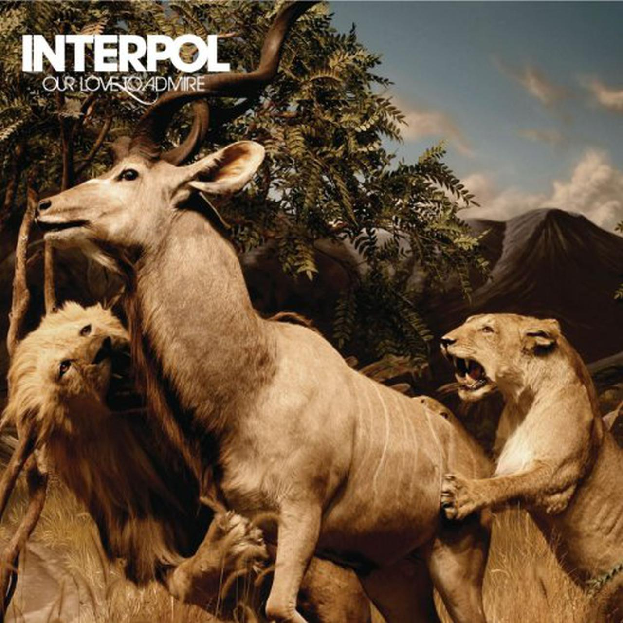 Our Love To Admire by Interpol image
