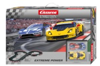 Carrera: Evolution - Extreme Power Slot Car Set (Chevrolet/Ford)