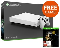 Xbox One X 1TB Fallout 76 Console Bundle - White for Xbox One