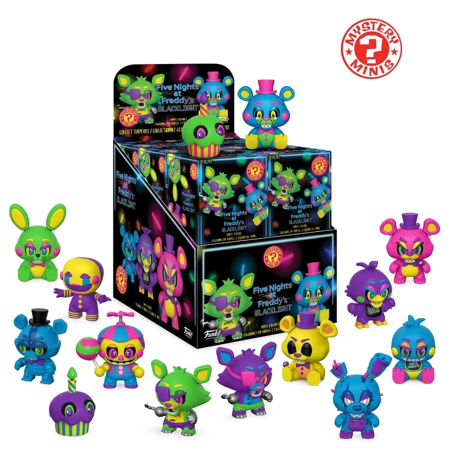 Five Nights at Freddy's: Black Light - Mystery Minis (Blind Box) image