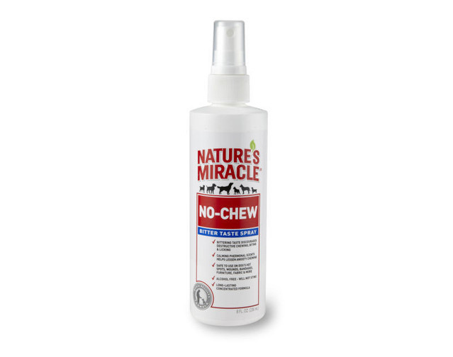 Natures Miracle: No Chew Bitter Taste Spray 236ml image