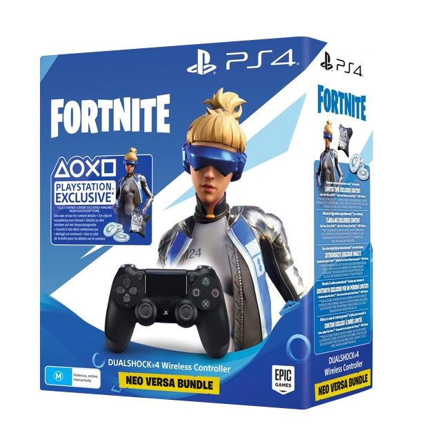PlayStation 4 Dual Shock 4 v2 Wireless Controller - Fortnite Black for PS4 image