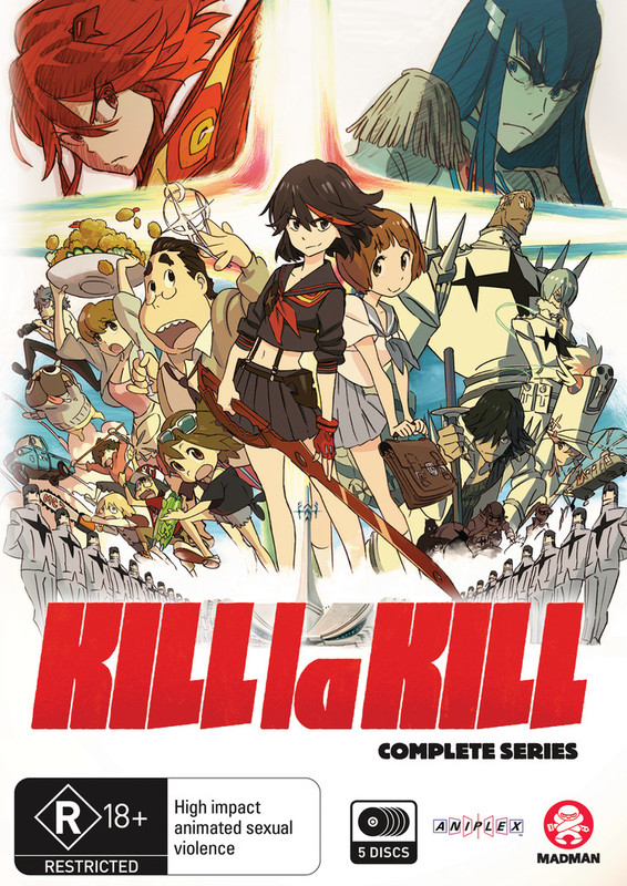 Kill La Kill - Complete Series on DVD
