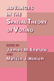 Advances in the Spatial Theory of Voting image