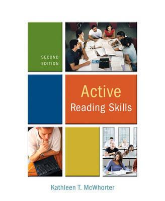 Active Reading Skills by Kathleen T McWhorter image