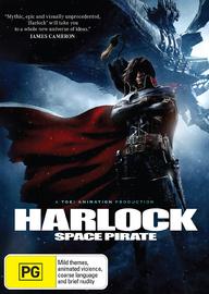 Harlock Space Pirate on DVD