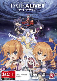 Date A Live II - Complete Series Two on DVD image