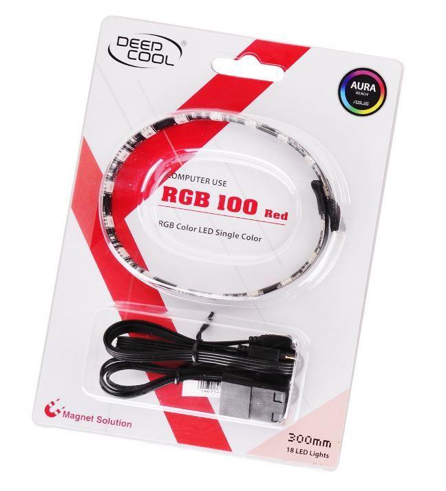 DEEPCOOL LED Strip Light with Magnet - Red (30cm) image