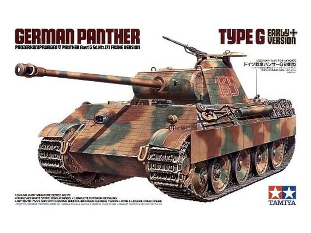 Tamiya 1/35 Panther Type G Early Version - Model Kit