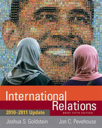 International Relations Brief: 2010-2011 Update by Joshua S Goldstein image