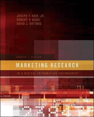 Marketing Research by Joseph F Hair image