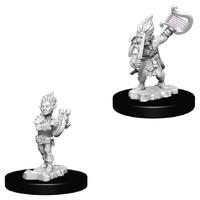 Pathfinder Deep Cuts: Unpainted Miniature Figures - Gnome Male Bard