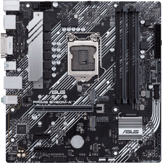 ASUS Prime B460M-A mATX Motherboard