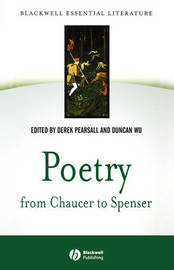 Poetry from Chaucer to Spenser: An Anthology of Wr itings in English 1375-1575 image