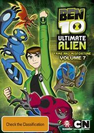 Ben 10 Ultimate Alien - Volume 7 on DVD