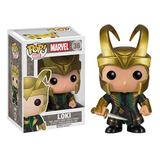 Marvel Thor Loki with Helmet Pop! Bobble Vinyl Figure