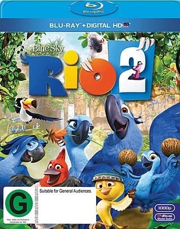 Rio 2 on Blu-ray, UV