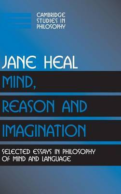 Cambridge Studies in Philosophy by Jane Heal