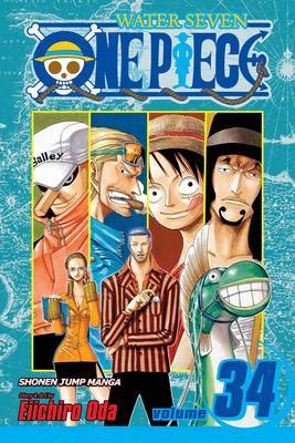 One Piece, Vol. 34 by Eiichiro Oda