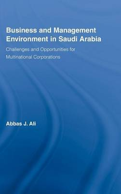 Business and Management Environment in Saudi Arabia by Abbas Ali image