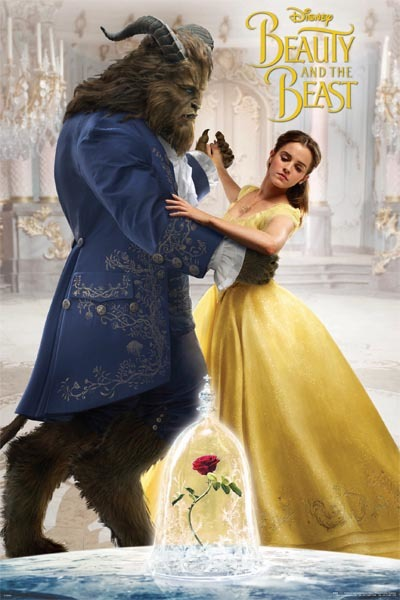 Beauty And the Beast Maxi Poster - Movie Teaser (610)