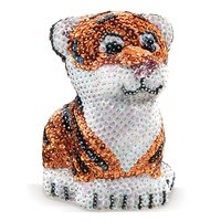 3D Sequin Art - Tiger