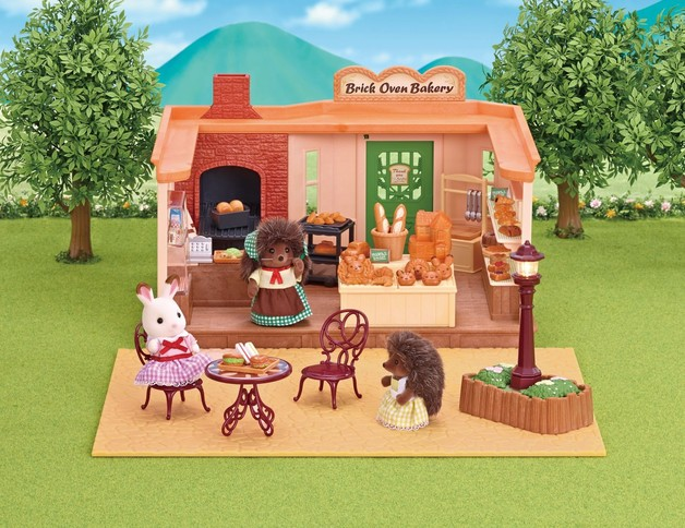 Sylvanian Families Brick Oven Bakery Gift Set Toy At Mighty Ape Nz