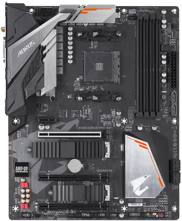 Gigabyte B450 AORUS PRO WIFI ATX Motherboard