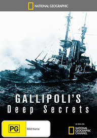 National Geographic: Gallipoli's Deep Secrets on DVD