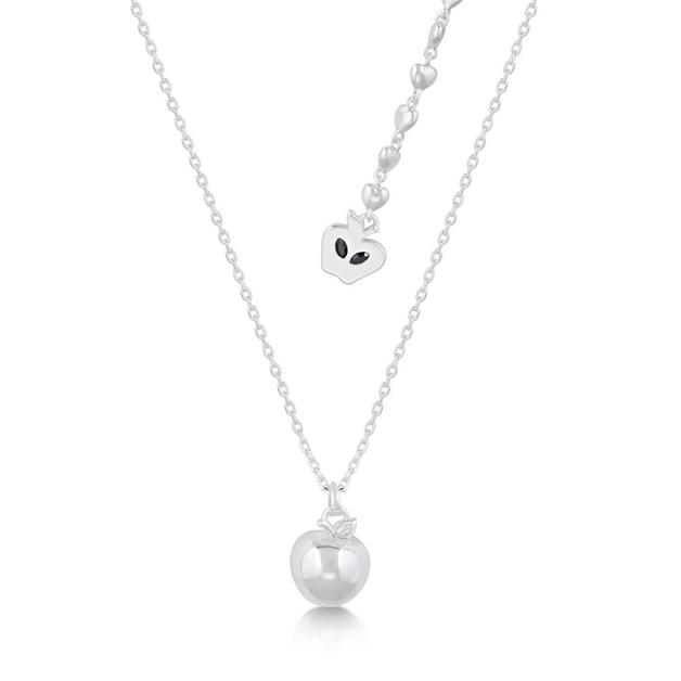 Couture Kingdom: Disney 3D Apple Necklace- White Gold