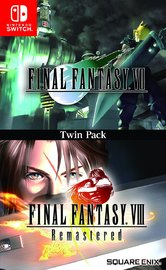 Final Fantasy VII & Final Fantasy VIII Remastered Twin Pack for Switch image
