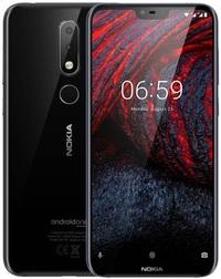 Nokia 6.1 Plus Dual SIM (64GB/4GB RAM) - Black image
