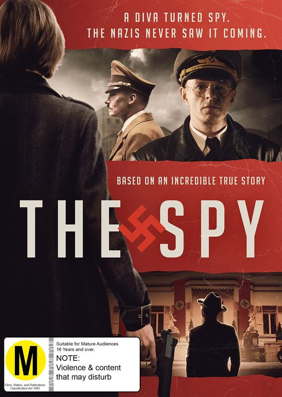 The Spy on DVD