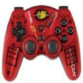 MicroCON Hand Controller - Red for PS2