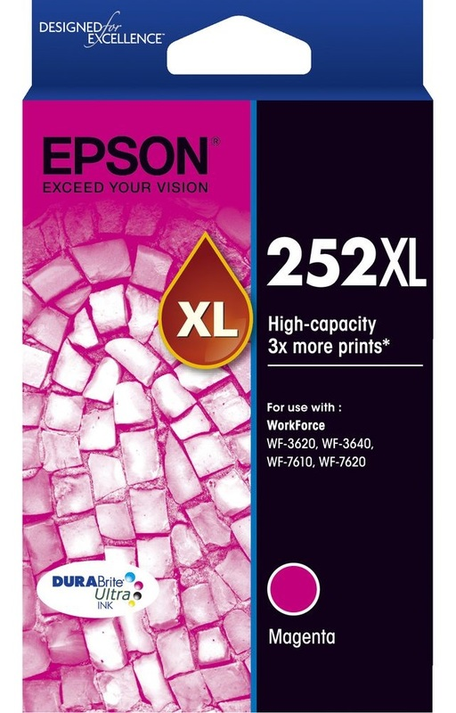 Epson Ink Cartridge - 252XL (Magenta)