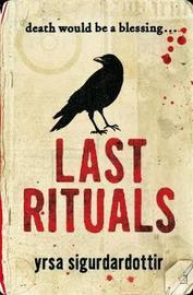 Last Rituals by Yrsa Sigurdardottir image