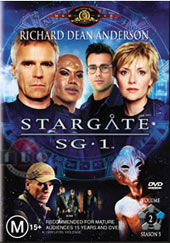 Stargate SG-1 - Season 5 Volume 2 on DVD