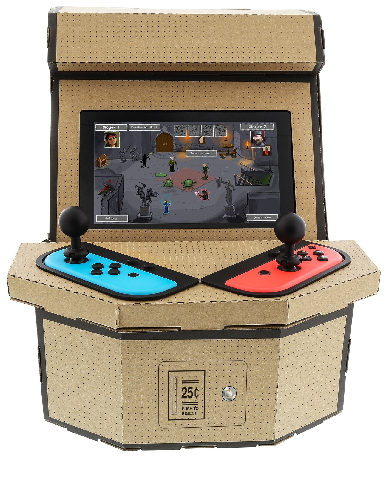 Nyko PixelQuest Arcade Kit for Nintendo Switch for Switch image