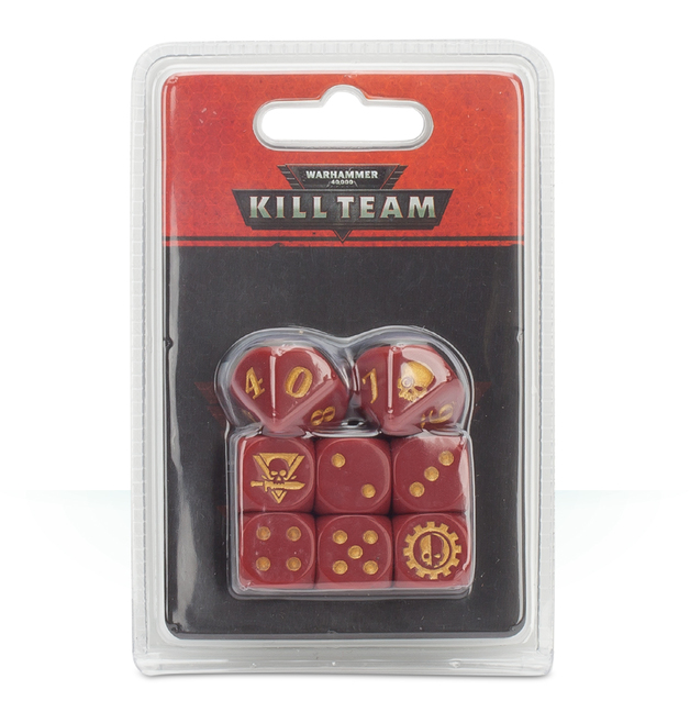 Warhammer 40,000: Kill Team - Adeptus Mechanicus Dice Set