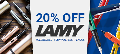 20% off Lamy Pens!