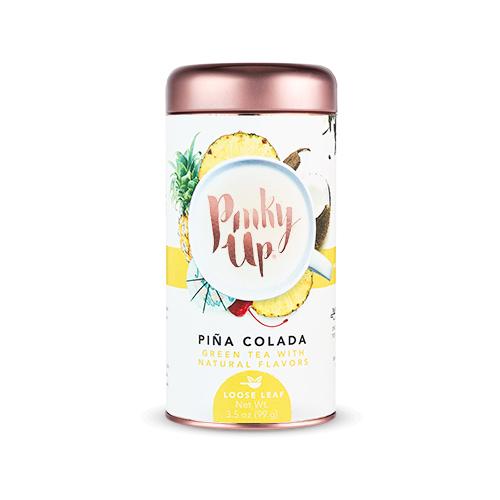 Pinky Up - Pina Colada Loose Leaf Tea