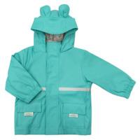 Silly Billyz: Waterproof Jacket - Aqua Bear Hood (Large)